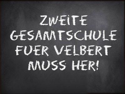 Zweite Gesamtschule für Velbert muss her!
