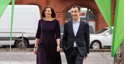 Katrin Göring-Eckardt und Cem Özdemir führen die GRÜNEN als Spitzenduo in den Bundestagswahlkampf 2017. (Foto: Rasmus Tanck)